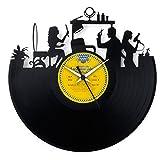 Geschenkidee Friseur Einweihung Friseur Geschenk Eröffnung Schönheitssalon Uhr Vinyl Original Hairstylist Made in Italy Vinyluse