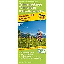 Tennengebirge, Tennengau, Hallein - Bischofshofen: Wander- und Radkarte mit Ausflugszielen & Freizeittipps, wetterfest, reißfest, abwischbar, GPS-genau. 1:35000 (Wander- und Radkarte / WuRK)
