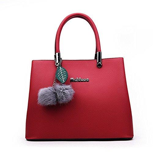 XY Fancy, Borsa a mano donna, grau (grigio) - RH#BB1215-0838-BB19 rosso vivo
