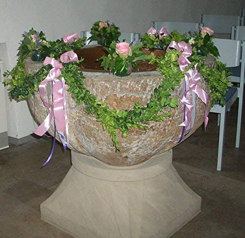Buchsbaum Mini Girlande für Hochzeit, Taufe, Konfirmation und Komunion - Meterpreis! (Mini-buchsbaum-girlande)