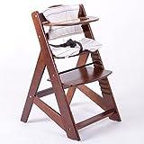 Hochstuhl Treppenhochstuhl Babyhochstuhl Kinderhochstuhl Kindertreppenhochstuhl Babystuhl BRAUN HC2533-D02 Creme