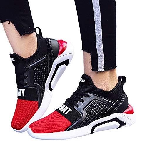 Tatis Shoes Atmungsaktive Sportschuhe der Beiläufigen Art der Maschenmasche Beiläufige Sport Damenschuhe Outdoor Lover Unisex Jogging Sneakers Herren Schuhe Bequeme und Laufschuhe