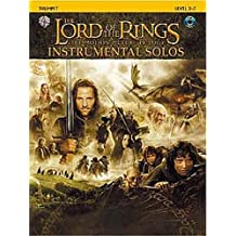 Lord Of The Rings: Instrumental Solos: Trumpet (Book And CD). Partitions, CD pour Trompette