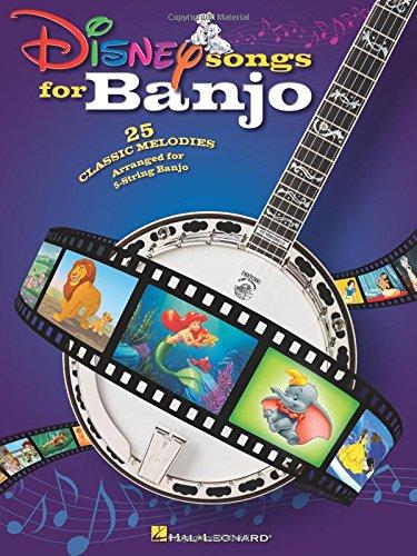 Disney Songs For Banjo: Songbook für Banjo