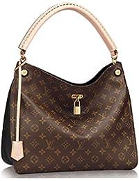 Louis Vuitton Auténtico Monogram Gaia bolso de hombro artículo: M41621 Noir ...