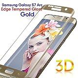 Samsung Galaxy S7 Edge Protector de Pantalla, TEFOMATE® Vidrio Templado Protector de Pantalla Completa Tempered Glass Screen Protector para Galaxy S7 Edge 5.5