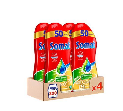Somat Gel Geschirrspüler, 4er Pack (4 x 1080 ml) - insgesamt 433 ml