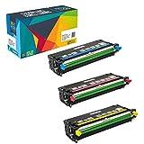 Do it Wiser ® hohe Kapazität Kompatibel Toner als Ersatz für For Dell 3110 3110CN 3115 3115CN 3er Packung