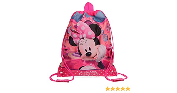 Rose Disney Minnie Smile Sac /à Dos Enfants 0.92 liters Rosa 34 cm