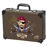 Captain Jack - Pirat - Spielzeugkoffer Spielkoffer Kofferl Kinderkoffer Kindergepäck - 49625-040 Schneiders Vienna