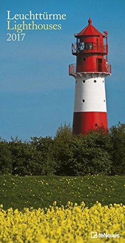 Leuchttürme 2017 - Leuchtturmkalender, Meereskalender, Strandkalender  -  33 x 64 cm