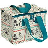 dotcomgiftshop Bicycle Design Insulated Lunch Bag