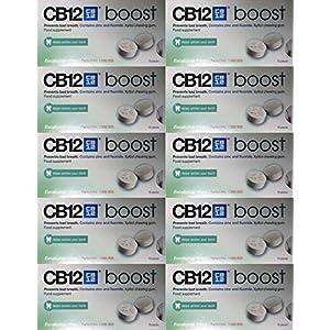 CB12 boost Eucalyptus White 10 pack by CB12