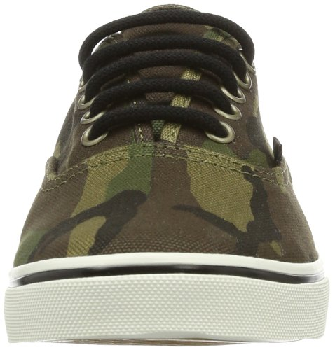 Vans  Authentic LO Pro, Chaussons mixte adulte Vert - Green - Grün ((Camo) military)