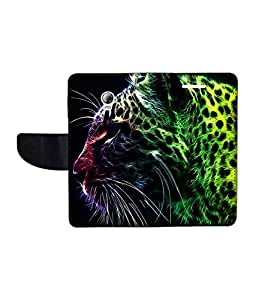 KolorEdge Printed Flip Cover For Lenovo P1 Multicolor - (1479-55KeMLogo09594LenovoP1)