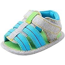 Zapatos bebé, Switchali Bebé Niña linda moda Suela blanda Comfort Sandalias zapatos de lona Recién nacido Niño Antideslizante Zapatillas Calzado de deportes barato