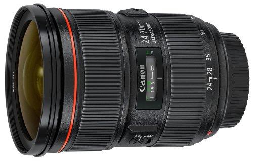 Canon EF 24-70mm f/2.8L II USM Objectif Noir