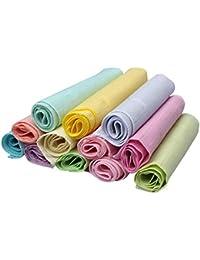Ziya Assorted Pure Cotton Ladies Handkerchiefs Pack Of 12