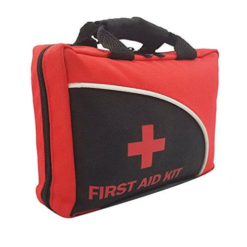 151-teiliges Erste-Hilfe-Set - mit Rettungsdecke, Eisbeutel, medizinischer Schere für Reisen, Zuhause, Schule, Büro, Auto, Wohnwagen, Arbeitsplatz
