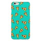 Cover Custodia Protettiva Pizza Pattern Azzurro Salame Italia Napoli Compatibile con iPhone 4/4S/5/5S/5SE/5C/6/6S/6plus/6s Plus Samsung S3/S3neo/S4/S4mini/S5/S5mini/S6/note