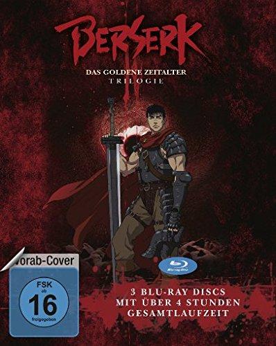 Berserk – Das goldene Zeitalter -Trilogie [Blu-ray]