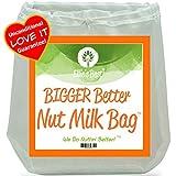 Ellie's Best Nussmilch-Beutel In Profi-Qualität-Handelsüblich – Wiederverwendbarer Mandelmilch-Beutel Und Allzweckfilter