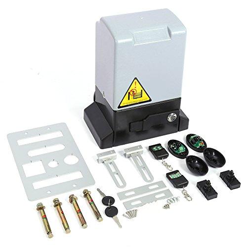 Motorizacin-para-puertas-correderas-Kit-de-ouvre-porte-coulisant-automtico-ajustable-con-mando-a-distancia-y-clave-Portal-elctrico-Motor-para-la-apertura-y-la-cierre-de-puerta-carga-max-600-kg