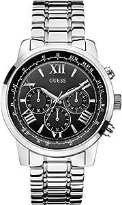 Guess - W0379G1 - Montre Homme - Quartz - Chronographe - Bracelet Acier inoxydable Argent
