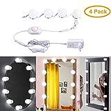 B-right LED Spiegelleuchte dimmbare Spiegellampe,Schminklicht, Schminkleuchte, Make-up Licht. Schminktisch Leuchte Spiegellicht Set für Kosmetikspiegel, 6000K, Kaltweiß