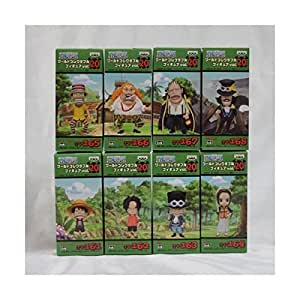 One Piece World Collectable Figure vol.20 all eight species (japan import)