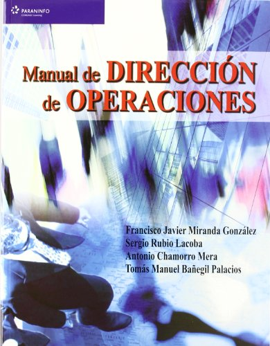 MANUAL DE DIRECCION DE OPERACIONES descarga pdf epub mobi fb2