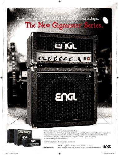 ENGL E315 - Testata valvolare Gigmaster, 15 W