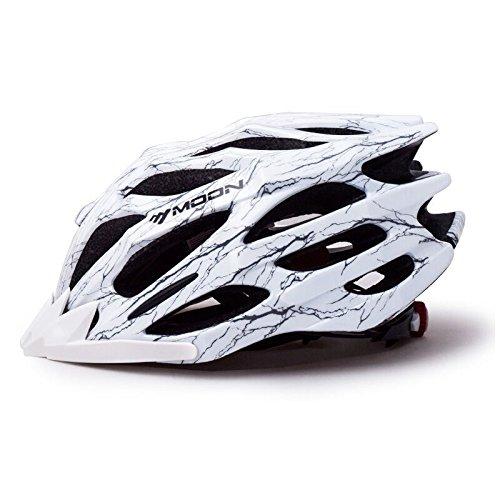 260g Ultra ligero   Casco de bicicleta de aire de calidad de calidad premium especializada para el ciclismo de carretera y de montaña   Safety Certified Bicycle Helmets para hombres y mujeres adultos, niños y niñas adolescentes   Cómodo, ligero, transpirable ( Color : White , Size : M )