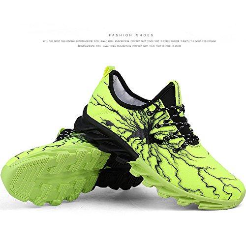 Eastlion Herren Atmungsaktiv Sportschuhe Turnschuhe Laufschuhe Trainer Schuhe Farbe1
