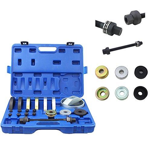 HG® Radlagerwerkzeug Professioneller Radnabenwerkzeug Werkzeug Satz für Kompakt Radnaben - Radlager Einheiten in VAG PKW 62m 66mm 72mm