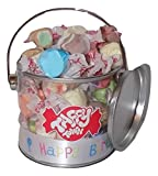 American salt water taffy birthday gift pot