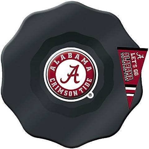 Alabama Crimson Tide pintado a mano vaso tazón con encanto Dip