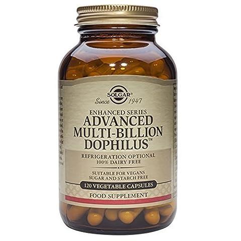 Solgar, Advanced Multi-Billion Dophilus (Non-Dairy) Vegetable Capsules, 120