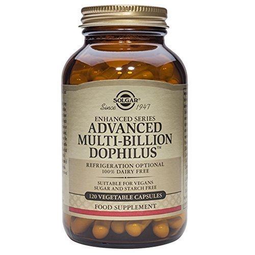 Solgar, Advanced Multi-Billion Dophilus (Non-Dairy) Vegetable Kappenules, 120