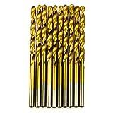 Woodworking 50Pcs/Set Twist Drill Bit Set Set HSS High Steel Titanium Tool Coated