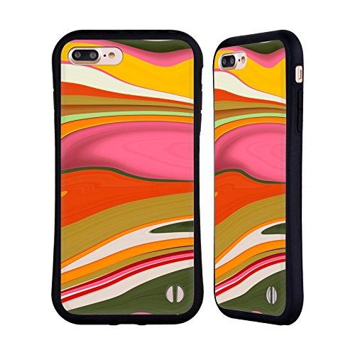 Ufficiale Shelly Bremmer Inclinato Astratto E Vivido Case Ibrida per Apple iPhone 7 / iPhone 8 Dune