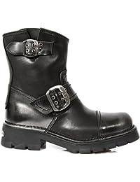 Zapatilla de deporte M.8122-S5 baja zapato negro - 41 - New Rock  36 EU  Gymn  174 Orange G.  Blanco - Weiß (White/Green 9208) Taylor Palm - Off White Patent 2saEt2xySM