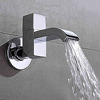 Lingyun Robinet- Cuivre rapide ouverture Robinet froid simple Into The Robinetterie Salle de bain Balcon mur Mop Piscine Bathroom Faucet