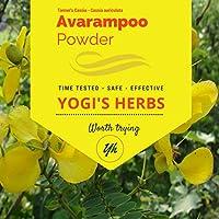 Yogis Herbs Premium Avarampoo Powder (Senna Auriculata) - 1/2 lb / 8 oz / 227g - Fresh & Pure Fresh & Pure