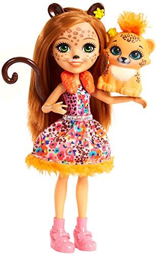 Enchantimals FJJ20 Cherish Cheetah Doll