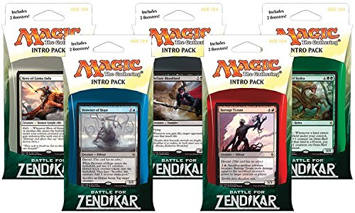 Magic Battle for Zendikar Intro Pack (WEIß) - DE (Yu Gi Oh Karten 2015)