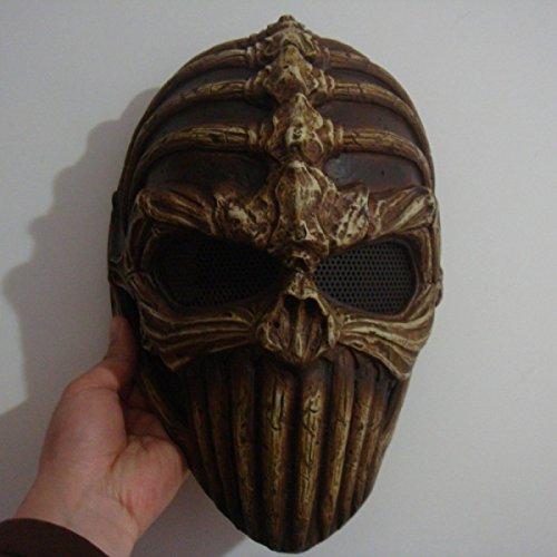 GAOQIANG Alien-Schädel-Maske Cos-Tanz-Männer Stützen Halloween-Terrorist-Partei-Dämon-Sturzhelm-Geist-König