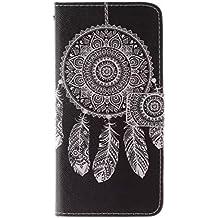 Coffeetreehouse - Bolso pequeño al hombro para mujer Campanas de viento iPhone 6 /6S
