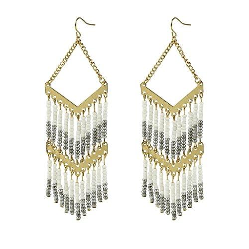 lux-accessori-perline-tribale-southwest-dichiarazione-orecchini-pendenti