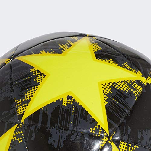 adidas Finale Juventus Capitano Ballon de football Pour Hommes, Shock Yellow/Carbon/Black, 5